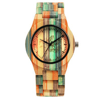 Hand-Crafted Natural Bamboo Watch