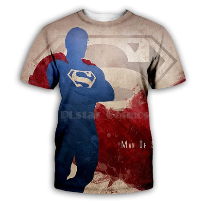 DC Comics Superman 3D Print T-Shirt