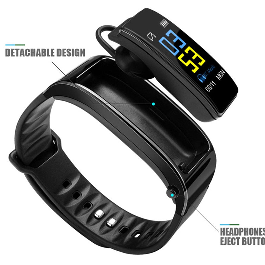 Bluetooth Y3 Headset Talk Smart Band Activity Tracker