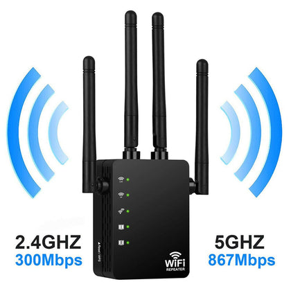 Wireless Wifi Repeater Router 300/1200Mbps