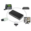 8 Port 10/100Mbps POE Fast Ethernet Network Switch