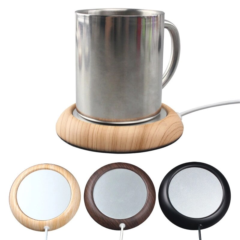 Wood USB Cup Warmer