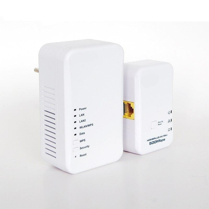 Wireless/Wired Speed Home-plug AV Powerline Adapter