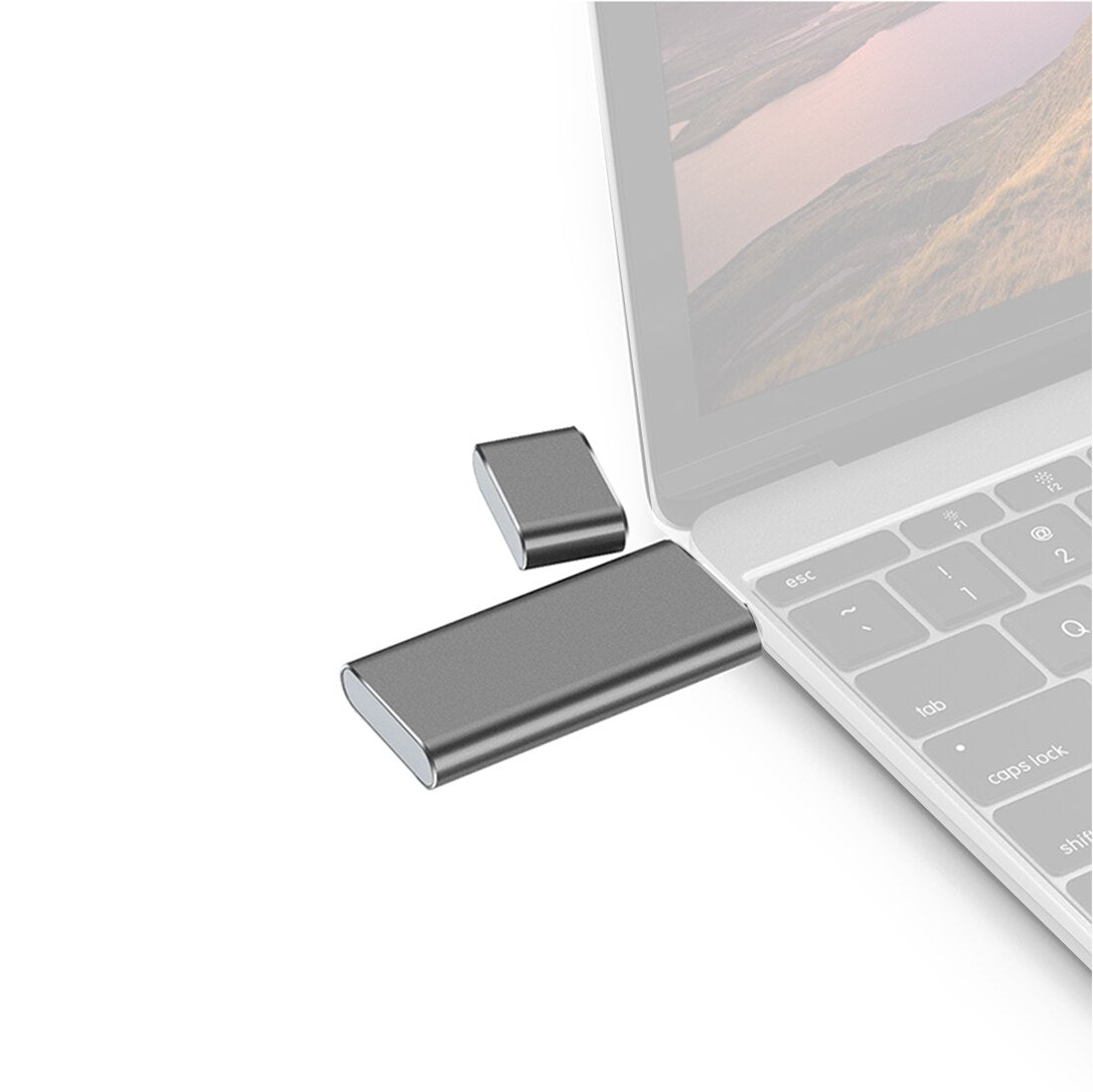 USB3.0 TO SSD Enclosure Solid State Drive External Case Adapter