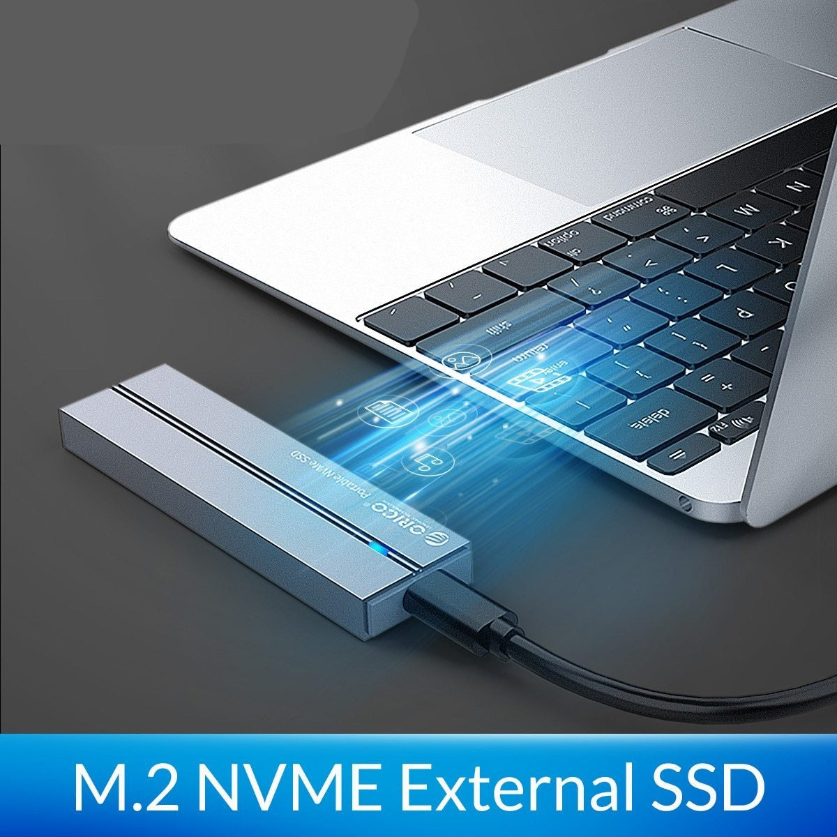 SSD External Solid State Drive with Type C USB 3.1