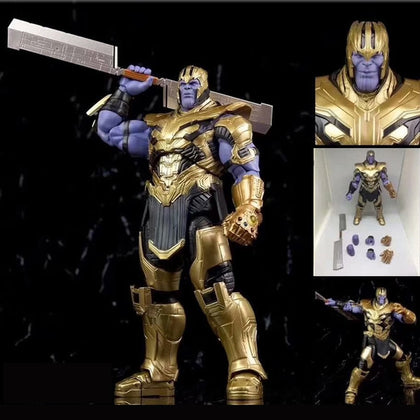 Marvel Avengers Endgame Thanos Action Figure