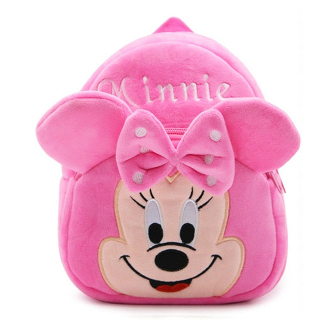 Cartoon Kids Plush Backpacks