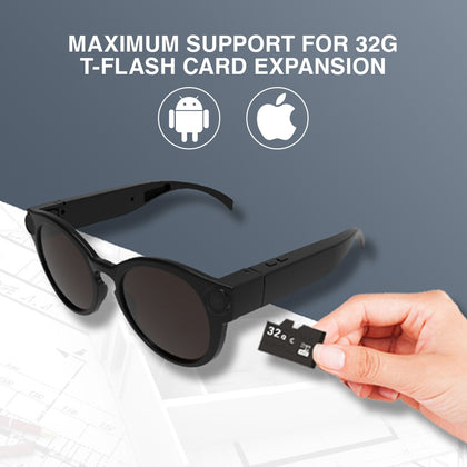 Mini Camera Digital HD Camcorder Smart Glasses