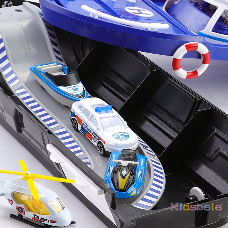 Simulation Track Inertia Boat Die-casts & Toy Vehicles