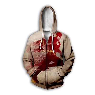 DC Comics The Flash 3D Print Hoodies and Sweatshirts