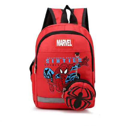 Marvel School Zipper Backpacks