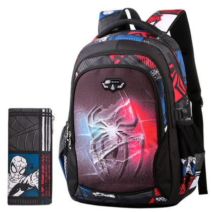 Marvel School Bag with Pencil Case