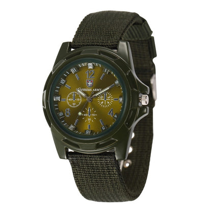 Men's Nylon Band Sports Watch