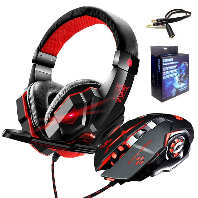 Supper Bass Wired Gaming Earphone for PS4, PC or Mobile