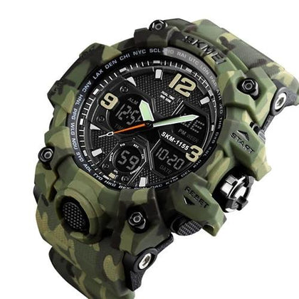 Quartz Digital Sports Watch