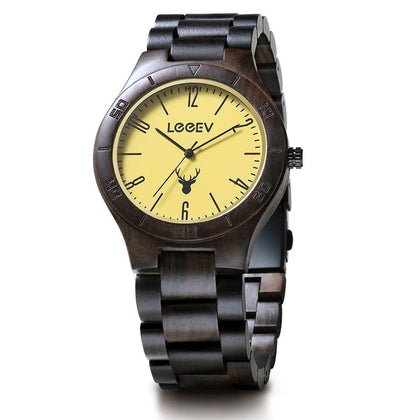 Vintage Sandalwood Eco Friendly Watch