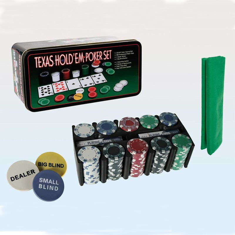 200 Texas Holdem Poker Set