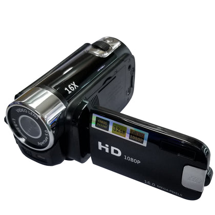 Rotating Screen DV Digital Camera 2.7 inch TFT LCD Screen 16X Digital Zoom