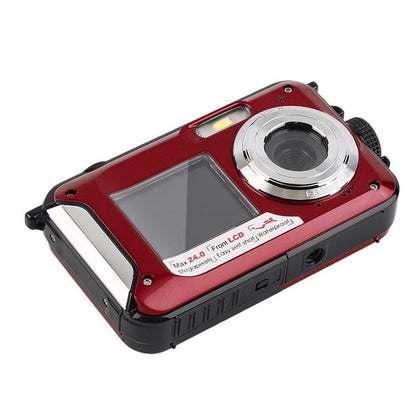 HD268 Waterproof Digital Camera 2.7 inch TFT Double Screen Full HD
