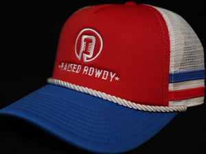 Ropes and Bands Foam Trucker