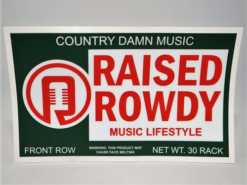 Country Music Lifestyle Sticker