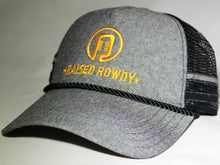 Load image into Gallery viewer, Ropes and Bands Logo Trucker Hat