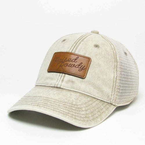 Rowdy Rodeo Stone Washed Trucker (Stone)
