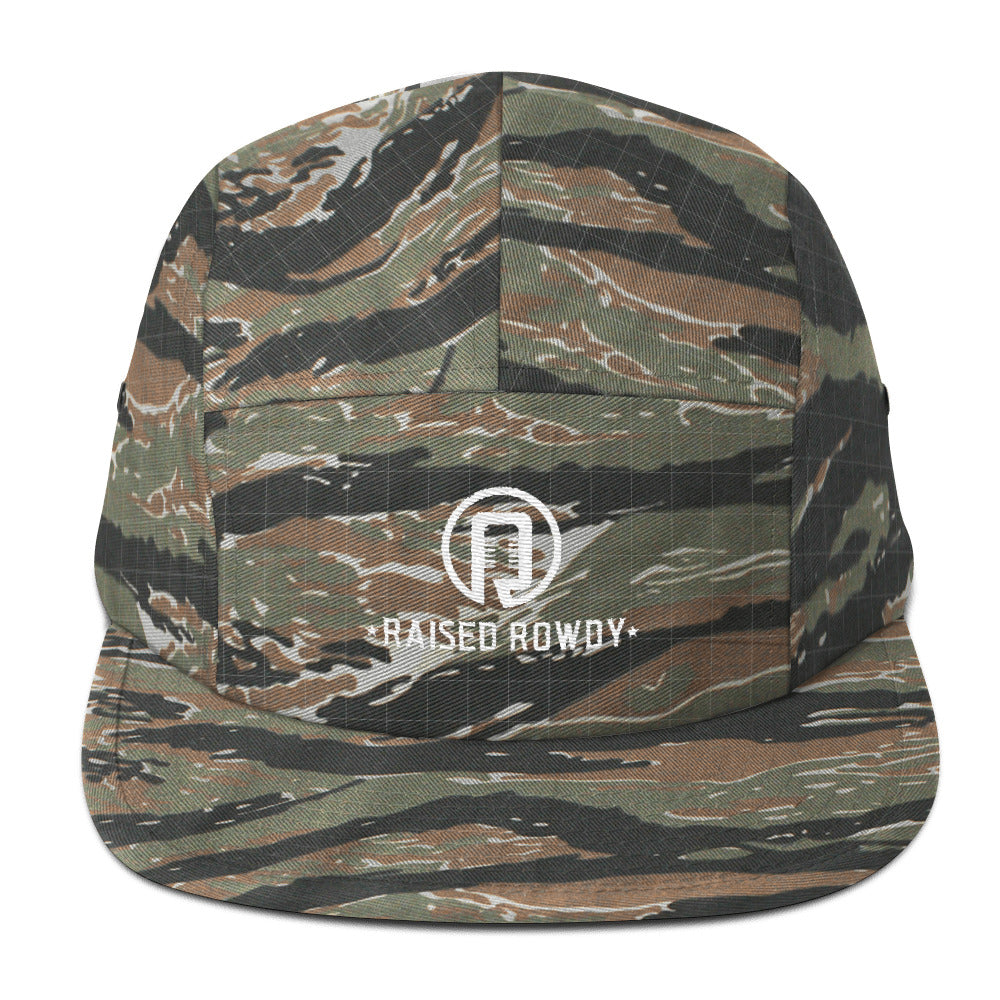 Camo Camper Five Panel Cap