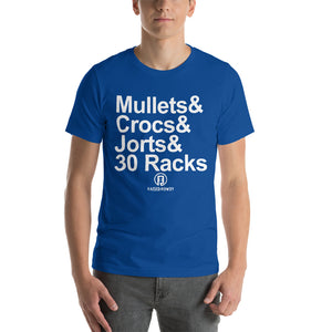Mullets & Short-Sleeve Unisex T-Shirt