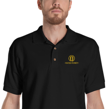 Load image into Gallery viewer, Raised Rowdy Logo Embroidered Polo Shirt