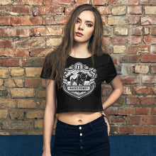 Load image into Gallery viewer, Rowdy Buffalo Women's Crop Tee