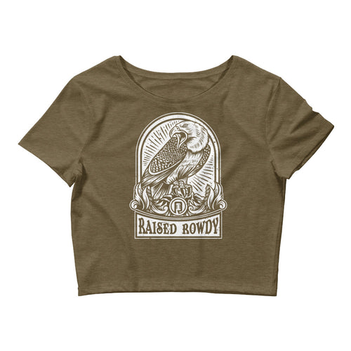 Screaming Eagle Women's Crop Tee