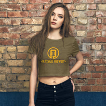Load image into Gallery viewer, Logo Women's Crop Tee
