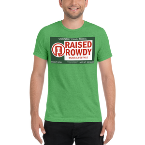 Raised Rowdy Lifestyle Short sleeve t-shirt