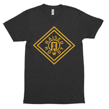 Load image into Gallery viewer, Gold Diamond Logo Short sleeve soft t-shirt