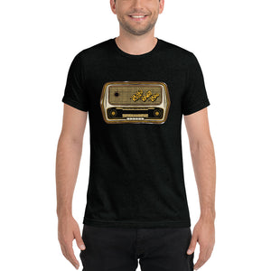 Raised Rowdy Radio Tri-blend Short Sleeve T-shirt
