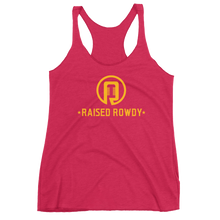 Load image into Gallery viewer, Raised Rowdy Logo Women's Racerback Tank
