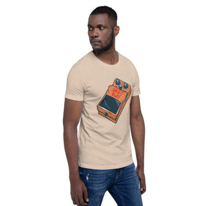 Guitar Pedal To The Metal Short-Sleeve Unisex T-Shirt