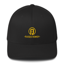 Load image into Gallery viewer, Flexfit Raised Rowdy Logo Hat