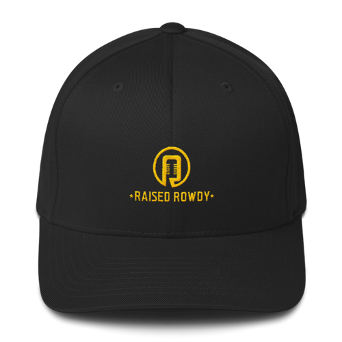 Flexfit Raised Rowdy Logo Hat
