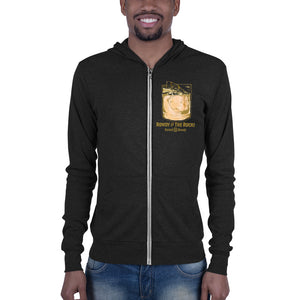 Rowdy on the Rocks Unisex zip hoodie