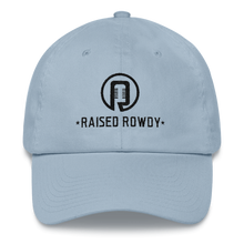Load image into Gallery viewer, Black Logo Dad hat
