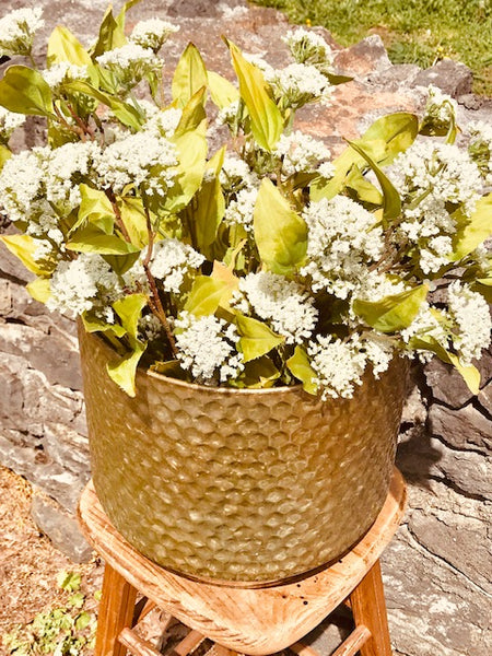 WILLOW HAMMERED PLANTER