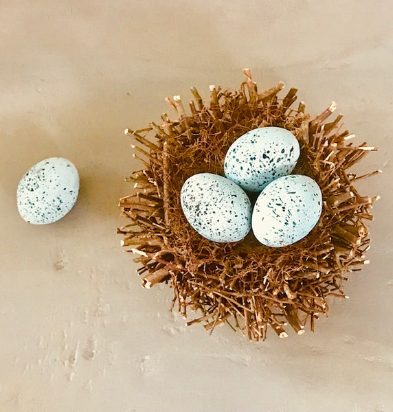SPECKLED ROBIN'S EGGS-BUNDLE OF 3