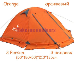 FLYTOP 2-3 Person Snow Skirt Tent