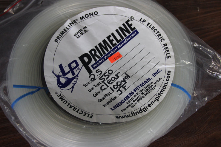 Primeline 250lbs, 100yds Mono Line Clear