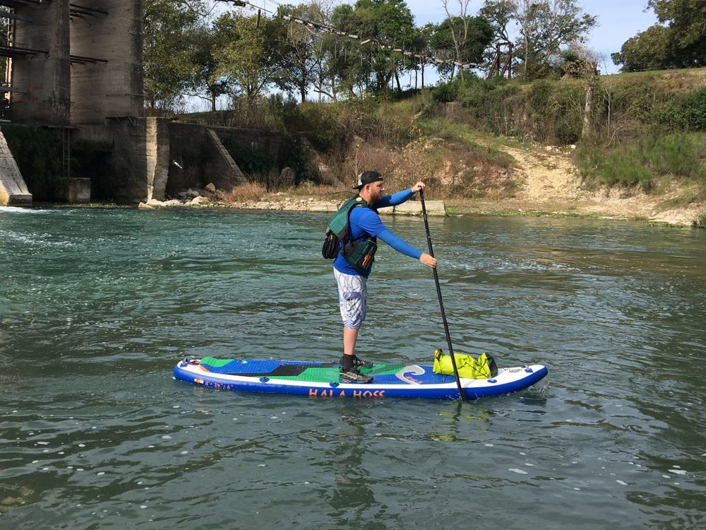 Self Support SUP of the San Marcos