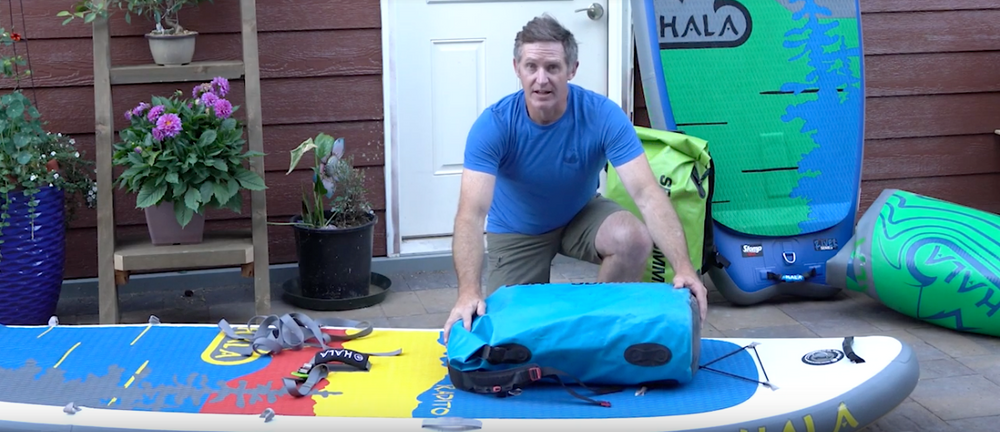 How To Rig A Paddle Board for Overnight Trips