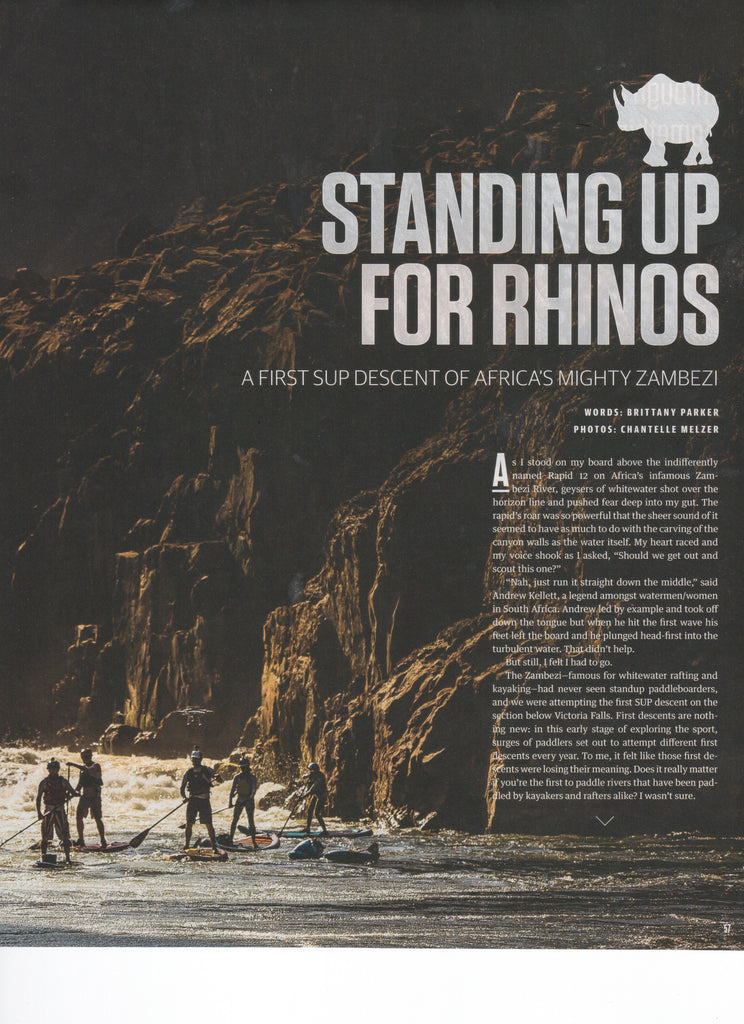 "SUP The Mag: ""Standing up for Rhinos"" - Hala"
