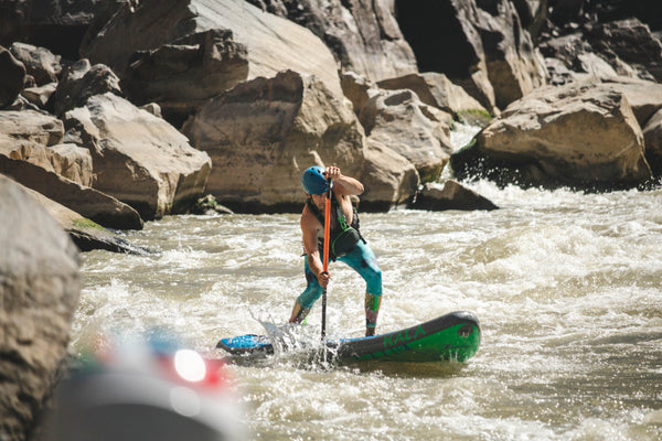 River SUP Stance